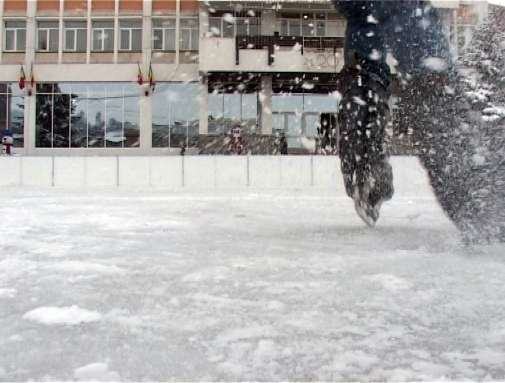 O zi pe patinoar
