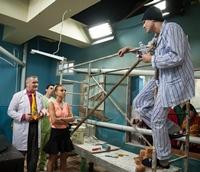 Alex Margineanu se interneaza la Spitalul de dementa