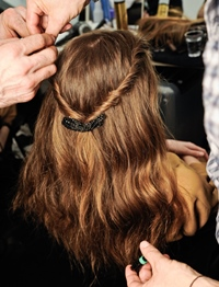 Direct de pe podium: tendinte in hairstyle