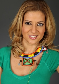 Amalia Enache are o poarta in loc de cuier