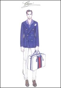 Gucci, in colaborare cu antreprenorul Lapo Elkann