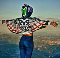Totem-uri, aripi si motive etnice in colectia Adidas Originals by Jeremy Scott!