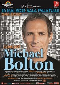Prima categorie de bilete, epuizata la concertul lui Michael Bolton din 16 mai