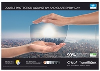 Crizal Transitions VII: lentilele care controleaza lumina