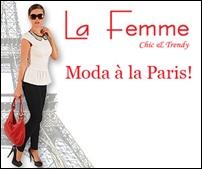 Moda  a la Paris cucereste Romania prin noua colectie La Femme