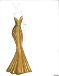 Zac Posen a creat o rochie inspirata de inghetata Magnum