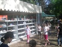 Caravana Cartii BookLand va asteapta in parcul Herastrau cu multa distractie