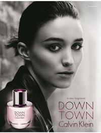 Rooney Mara, imaginea parfumului Downtown de la Calvin Klein
