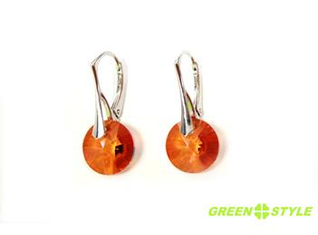 Invaluie-te in delicatetea bijuteriilor Green Style, branding partner of Swarovski® Elements