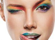 Buze rasfatate in nuante colorate