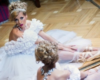 """Royal Garden"" by Maria Simion, la Bucharest Fashion Week"