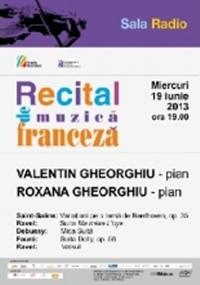 Recital de muzica franceza