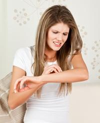 eczema in jurul nasului