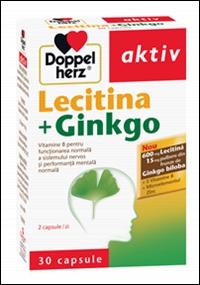 """Manageriaza stresul si invata """"destept"""" cu Lecitina+Ginkgo"""