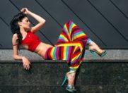 Pantalonii harem, in trend