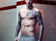 David Beckham, la bustul gol pentru H&M