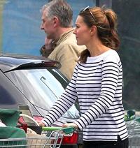 Kate Middleton, o mamica norocoasa