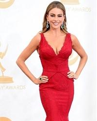 Sofia Vergara, aparitie de senzatie la Premiile Emmy