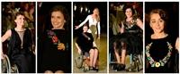 Colectia Lunatico a Rozaliei Bot, prezentata in mod atipic: moda in scaunul cu rotile