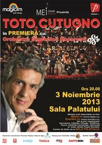 Concertul Toto Cutugno de la Brasov se amana
