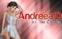 "Andreea D: ""Piesele «Free» si «Money maker» au devenit in foarte scurt timp hituri la nivel international"""