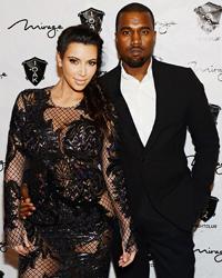 Popularitatea lui Kanye West a scazut in urma relatiei cu Kim Kardashian