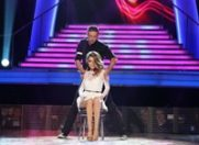 """Alexandra Dinu a purtat o rochie semnata de Mihaela Drafta la """"Dansez pentru tine"""""""