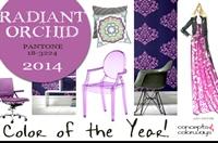 Culoarea anului 2014, Radiant Orchid, acapareaza tot!
