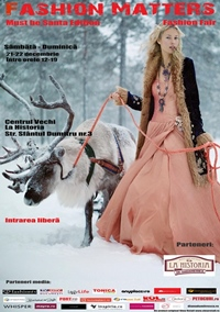 FASHION MATTERS – Must be Santa Edition, targul cadourilor de designer