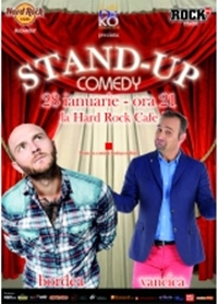 Stand-up comedy cu Bordea si Vancica