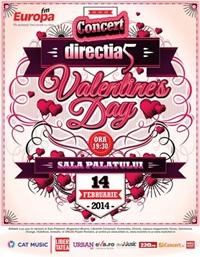 Concert Directia 5 de Valentine's Day