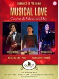 Musical Love – Concert de Valentine's Day
