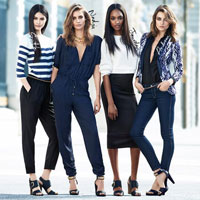 H&M: Andreea Diaconu, model pentru campania de primavara