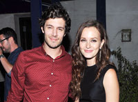 Leighton Meester si Adam Brody s-au casatorit in secret