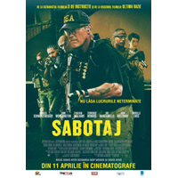 Sabotaj, din 11 aprilie la Hollywood Multiplex