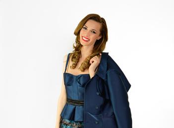 Janina Nectara va fi THE BURBERRY GIRL la Saptamana Modei de la Milano