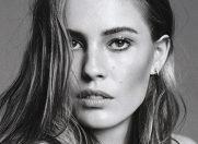 Modelul Nadja Bender, imaginea campaniei de primavara Fendi