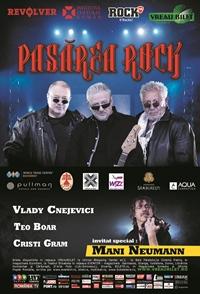Costin Petrescu va urca pe scena Salii Palatului din Bucuresti in concertul Pasarea Rock