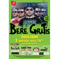 Castiga 4 bilete la concertul trupei Bere Gratis