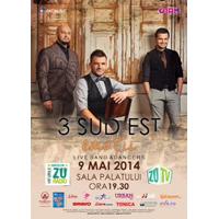"""3 SUD EST, concert plin de """"Emotii"""" la Sala Palatului, pe 9 mai"""