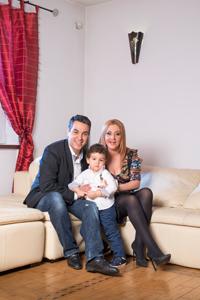 Oana Turcu, Cristi Brancu si Tudor – fericirea se traieste in familie!