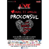 Concert Proconsul in Club Live