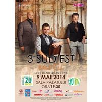 Iti oferim doua invitatii duble la concertul trupei 3 SUD EST