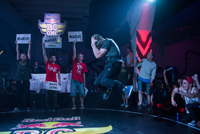 B-Boy Marius, campion national de breakdance