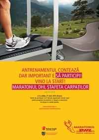 Maratonul DHL Stafeta Carpatilor, editia cu numarul cinci