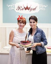 Carmen Negoita a inaugurat restaurantul Rawyal