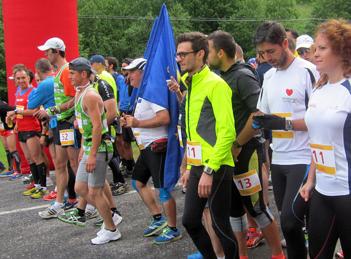 CATENA si TONICA la Maratonul DHL – Stafeta Carpatilor 2014