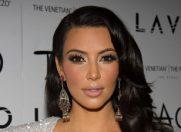 Kim Kardashian in vizor