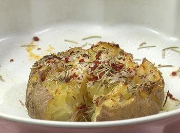 Reteta de cartof dulce-picant cu chili si rozmarin