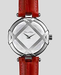 Ceasul in editie limitata creat de Oscar de la Renta in parteneriat cu Shinola
